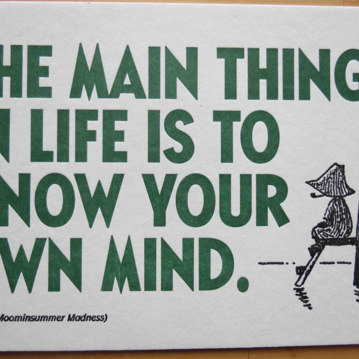The philosophy of Snufkin pt.3 [Snufkin and Socrates on knowing yourself]