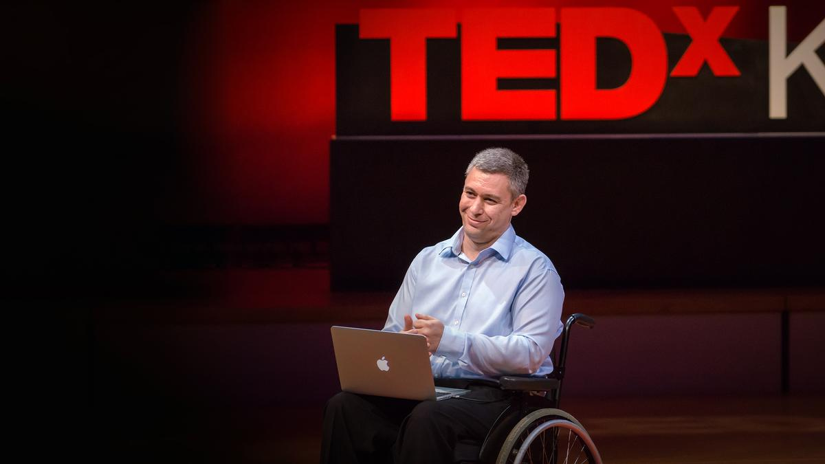 The philosophy of: Martin Pistorius –  What makes us human is communication. It's not 'Actions speak louder than words.' It's actually vice versa that matters more.