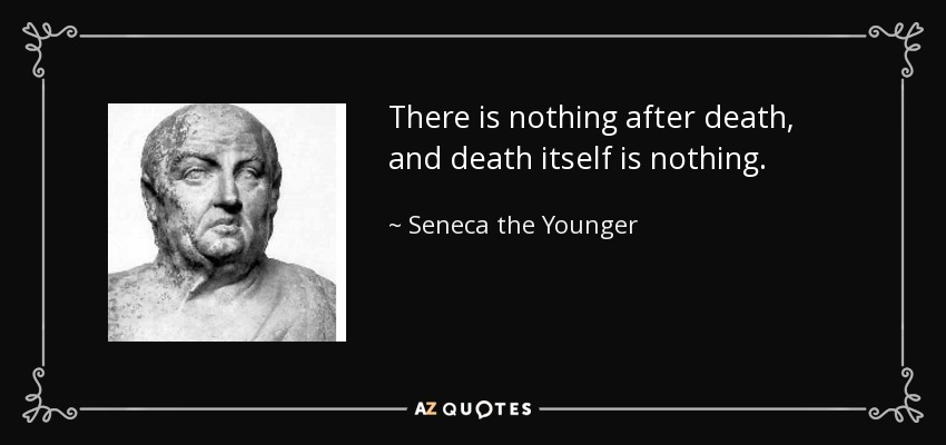 Seneca on the shortness of life (and the shortness of death)
