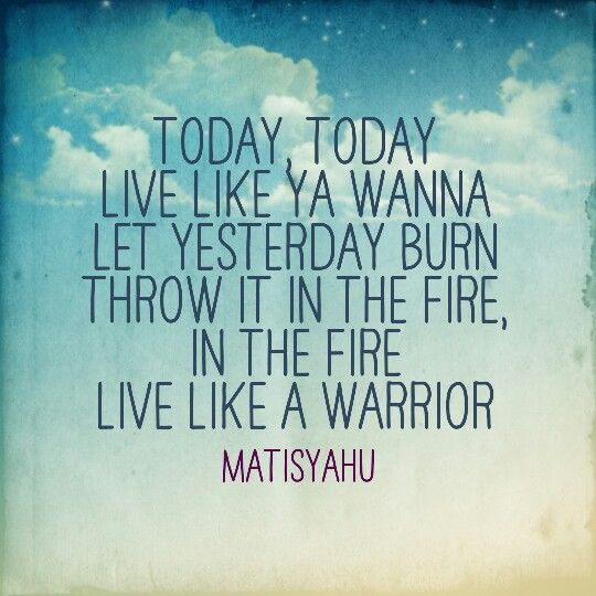 Live like a warrior – The philosophy of: Matisyahu