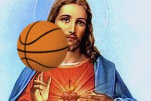 Lesson Learned: God Announces He Made Jesus Good Down Low In The Post But Bad At Free Throws To Teach Us The Folly Of Assuming That Just Because You're A Beast In The Block Doesn't Necessarily Mean You Can Always Finish The And-1