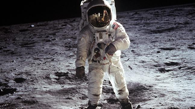 What Else Was Neil Armstrong Considering Saying As He First Stepped On The Moon?