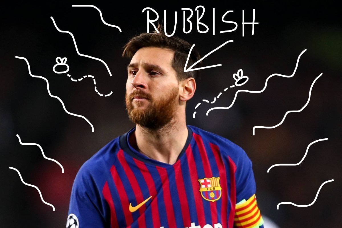 Time's Up, Buddy: After Errant Pass In Today's La Liga Match Against Espanyol, FC Barcelona Finally Decide To Get Rid Of Argentinian Disaster Lionel Messi