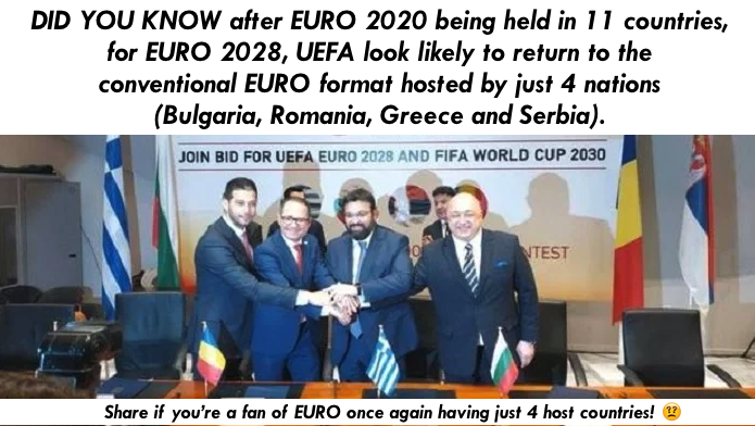 It's Technically Another Rest Day at UEFA Euro 2020 But Maybe This Euro Fact Will Stop You from Committing Suicide? Share If It Does!