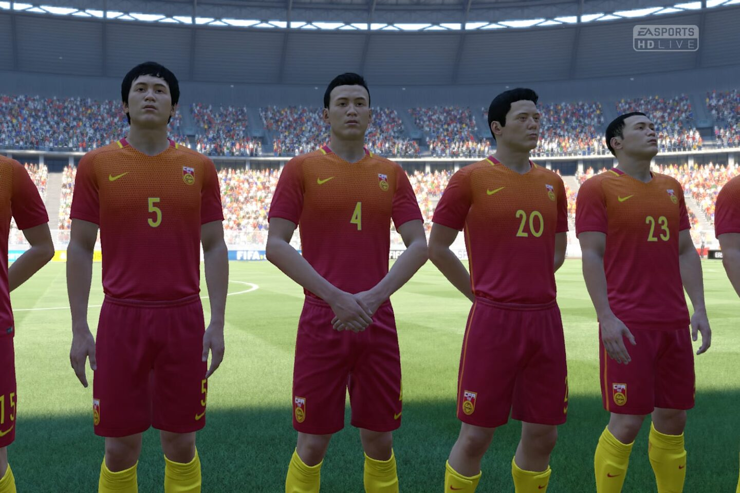 China's intense maximum of 3 hours a week practice stands them in good stead for an upset of Australia on FIFA tonight, and if not and they're losing late in the game, then a 'fuck this' and console reset